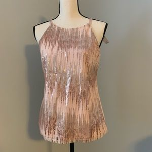 Sequined tank top from White House Black Market